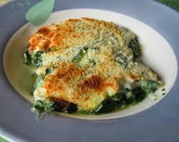 receta espinacas con bechamel