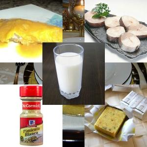 receta FILETES DE MERLUZA AL AZAFRAN