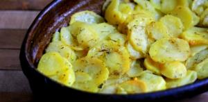 receta Patatas al ajillo