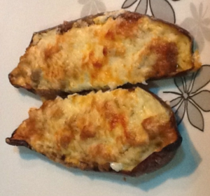receta Berenjenas rellenas de atún