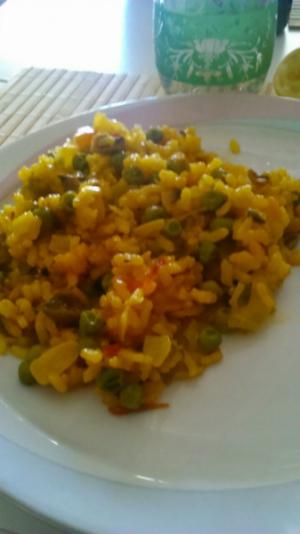 receta [EXPESS] Arroz y Verduras