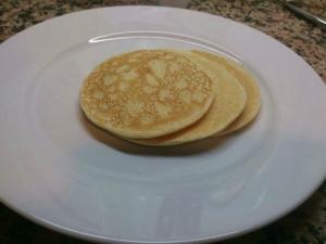 receta Tortitas de avena y queso fresco
