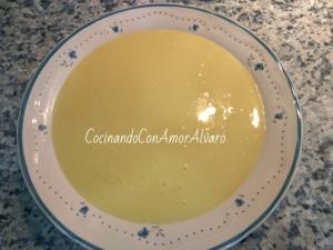 receta Crema de Calabacín